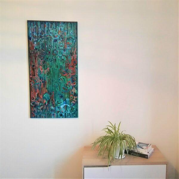 peinture acrylique semiramis